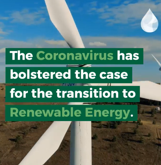 Coronavirus has made a case for Renewable Energy
