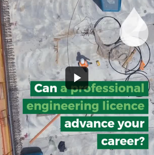 ​Can a professional engineering licence advance your career?